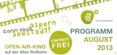 Open-Air Kino aspern Seestadt