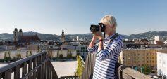 """Höhenrausch """"Das andere Ufer"""" / Zeitgenössische Kunst über den Dächern der Stadt / ab 24. Mai 2018 (c) linztourismus / R. Josipovic"""
