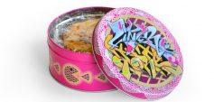 Von der Spray- zur Keksdose: Künstler und Rapper Skero gestaltete 2018 die Torten-Dose.